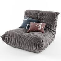 3d soft folds model