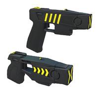 3d model stun guns