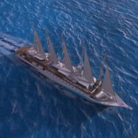 3d model cruise ship