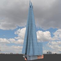 3dsmax shard building