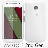 Motorola Moto E 2nd Gen White