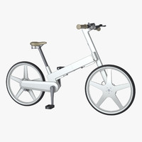 folding bicycle 3D models