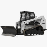 c4d compact tracked loader bobcat