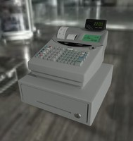 3d cash register