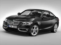 bmw car 3d max