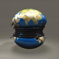 3d model faucets globe
