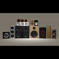 High Quality Speaker Collection Set