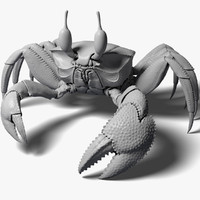 Ghost Crab High Poly