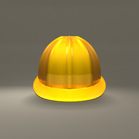 construction helmet 3d model
