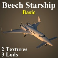max beechcraft starship basic