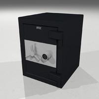 3d model door open