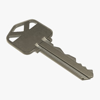 3ds max house key