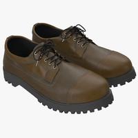 3ds max men boots