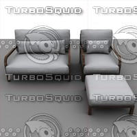 sofa modeled 3d max