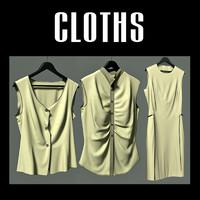 3ds max cloth