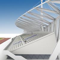 3ds max stadium