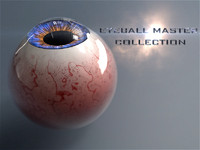 Realist Human Eye Master Collection with Rig