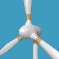 3d 3ds wind turbine