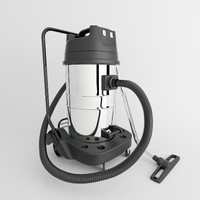 vacuum cleaner industrial 3d model