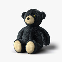 teddy bear 3 3d model
