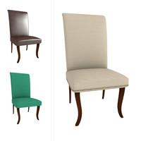 3d living room chair model