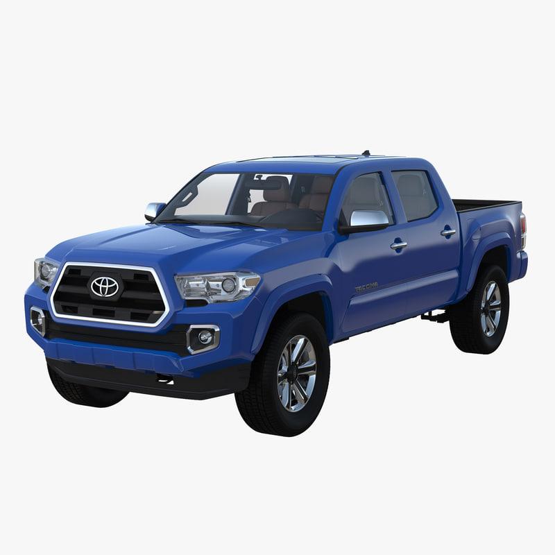 3d model of Toyota Tacoma 2016 00.jpg