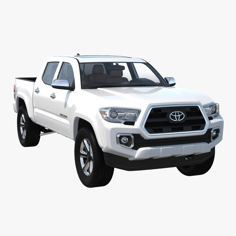 Toyota Tacoma 2016 Simple Interior 3d model 00.jpg