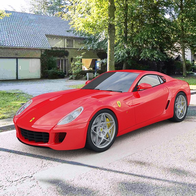 3d Ferrari 599 Gtb Model