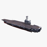 uss george washington 3d model