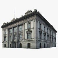 3d model of china building