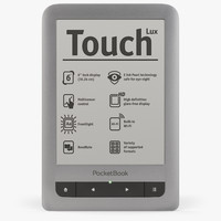 3d model pocketbook touch 2
