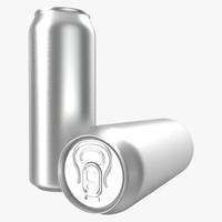 aluminum 0 5 l 3d model