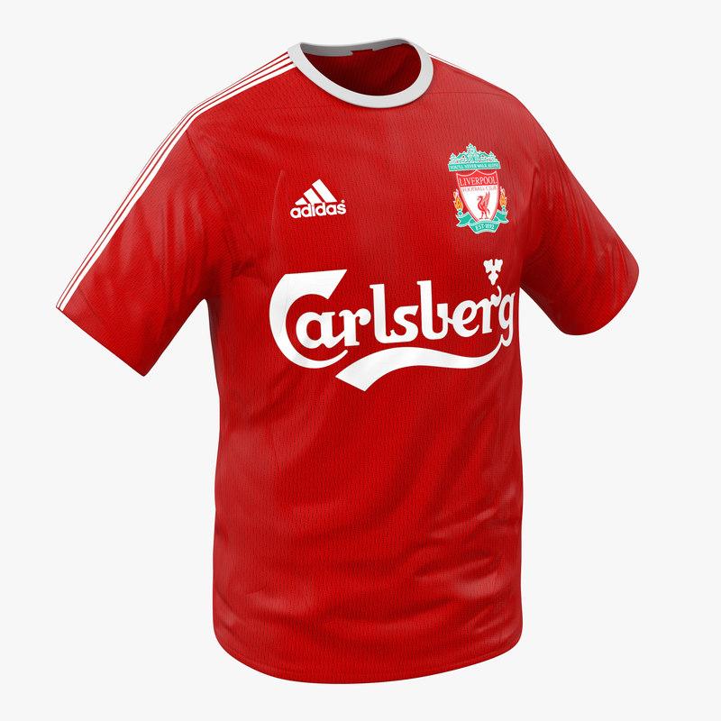3d model of T-Shirt Liverpool 00.jpg