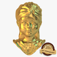 Golden Girl Statue