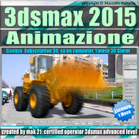 3ds max 2015 Animazione. volume 5.0_1 Mese Subscription