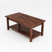 3d koda coffee table