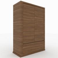 3d model teia modeled sideboard