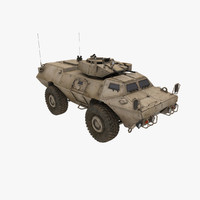 m-1117 support 3d model