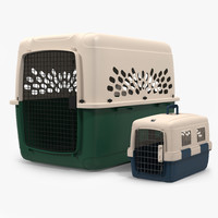 3d pet carriers model