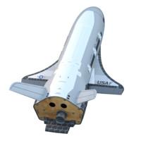 boeing x-37b x-37 3d model