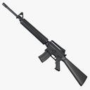 M16A2 Assault Rifle 3D models