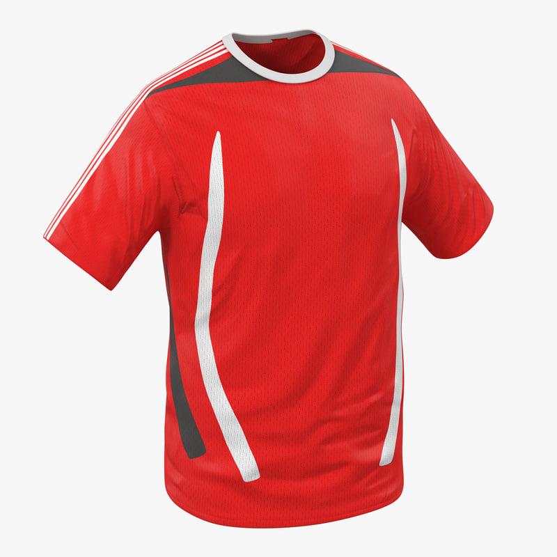 3d model of T-Shirt Generic 00.jpg