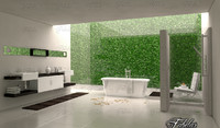 bathroom scene 3d c4d