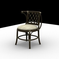 maya chair modeled