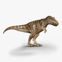 3d tyrannosaurus rex rigged model