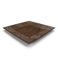 3d wooden plate