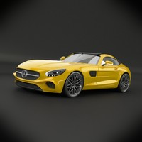 Mercedes amg gt 2015 restyled
