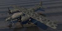 plane - focke wulf 3d 3ds