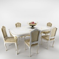 max venezia table chairs
