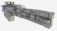 3ds max gun bullet